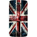 Casotec London Flag wallpaper Design Hard Back Case Cover for Huawei Honor Holly