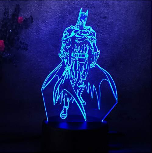 Illusion Baby Kostüm - Action Figure Kostüm Led Nachtlicht Für Kinder Baby Kind Spielzeug Touch 7 Farbe Licht Schlafzimmer Tisch Lampe Geschenk Schlaf Lampe