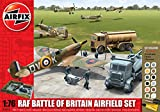 Airfix A50015 RAF Battle of Britain Airfield 1:76 Scale Diorama Gift Set with Paint Glue and Brushes