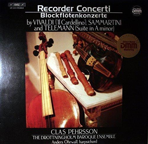 Recorder Concerti = Blockflötenkonzerte [Vinyl LP]