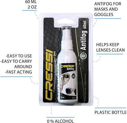 Zoom IMG-3 cressi premium anti fog spray