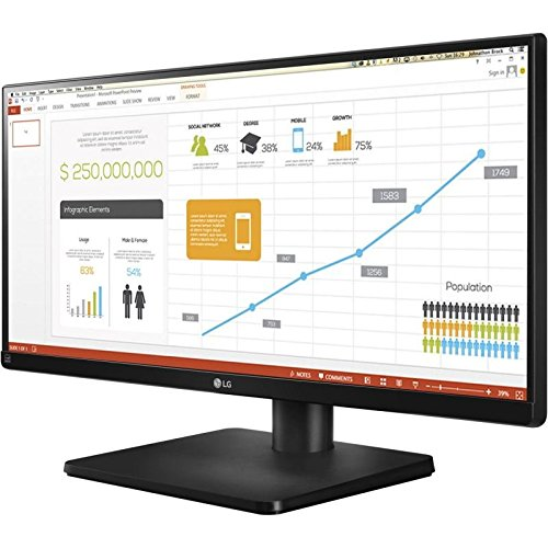 Bargain LG 29UB67 29 inch Ultraide Height Adjustable IPS Monitor (2560 x 1080, DVI, HDMI, DisplayPort, 300 cd/m2, 5ms) Online