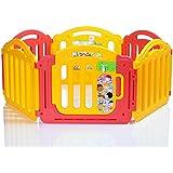 LCP Kids Parc Bébé de 6 cotés avec une porte de sécurité - 2014 Edition