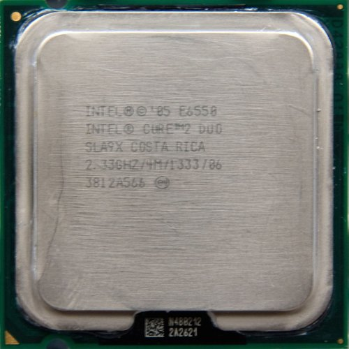 Intel Core 2 Duo E6550 Tray Conroe CPU Core 2 Duo 2330 mhz Socket 775 FCLGA 1333 FSB 4096 KB 65 W G0