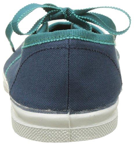 Bensimon Damen Tennis Babies Gros Grain Flach Bleu (Bleu)