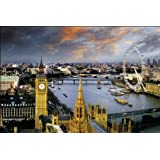 GB eye 61 x 91.5 cm London Reichold The Thames Maxi Poster, Assorted