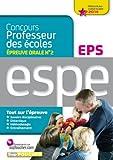 epreuve orale n?2 eps nouveau concours 2014 professeur des ?coles