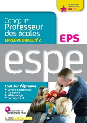 Epreuve orale Nº2 EPS - Nouveau concours 2014 professeur des écoles