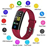 LIGE Aktivitäts Tracker,Fitness Trackers Pulsmesser Schlafüberwachung Schrittzähler Intelligentes Armband,Fitness Uhr with Kalorienzähler Intelligente Uhr,Männer, Frauen, Kinder Sport Armband