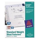 Avery 75536Letter Polypropylene (PP) 100pc (S) Sheet Protector–Klarsichthülle (Letter, Polypropylene (PP), 100PC (S))
