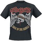 Aerosmith Back In the Saddle T-Shirt black
