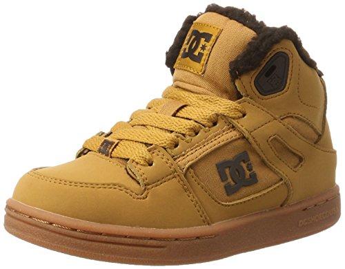Dc-jungen Skate Schuhe (DC Shoes REBOUND WNT, Sneaker, Braun (Wheat), 30.5 EU (12 UK))