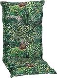 beo Sitzkissen Hochlehner/Hochlehner-Auflage: 120 cm x 52 cm x 7 cm (Kakteenlandschaft)