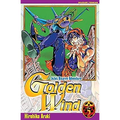Jojo's Bizarre Adventure - Golden Wind, Tome 5 :