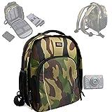 Sac à dos 'camouflage' pour caméscopes compacts PNJ Cam AEE SD18, SD19, AEE SD21,...