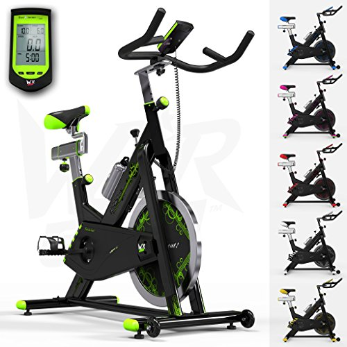 RevXtreme Indoor Aerobic Exercise Bike / Cycle Fitness Cardio Workout Machine -...