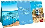Träume vom Meer 2018: 3-teiliger Tischkalender mit Monatskalendarium -