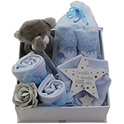Baby Boy Gift Basket Baby Boy Gift Hamper Boy Packed Twinkle Keepsake Box Baby Shower Gift New Baby Boy Gift