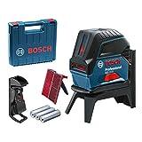 Bosch Professional 0601066e02GCL 2-15+ RM1+ étui de transport-Bleu (en)