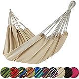 BB SPORT Tuch Hängematte Taino XL 220 x 170 cm in vielen Farben, Farbe:Beach