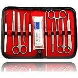 Cubiertos de disección Preparar cubiertos Skalpel Cirugía Set Medizin Biología Operación para Estudiantes