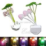 #9: Kartfy Fancy Changing Colors LED Mushroom Night Light Home Switch Illumination