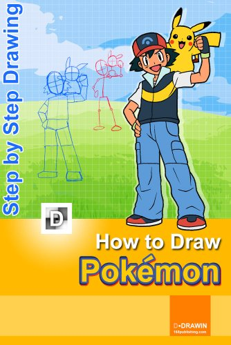 How To Draw Pokemon Step By Drawing Lessons For Children