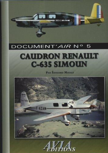 Le Caudron Renault C-635 Simoun (Document'air) par Édouard Mihaly