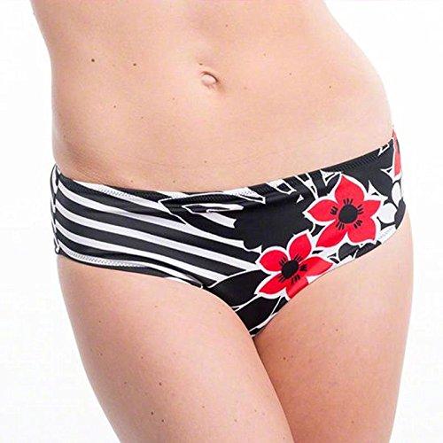 Fantasie Damen Bikinihose Schwarz - Schwarz