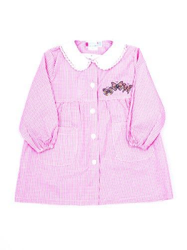 Andy&giò grembiule asilo bambina 90068 grembiule quadri rosa (quadri rosa, 2 anni)