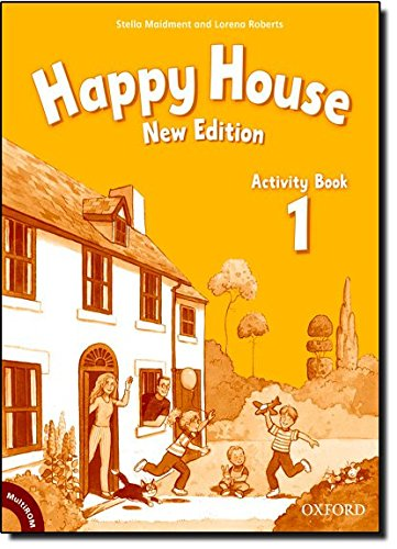 Happy House 1: Activity Book and MultiROM Pack New Edition (Happy Second Edition) - 9780194730648 por Stella Maidment