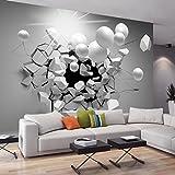 murando - Fototapete Abstrakt 400x280 cm - Vlies Tapete - Moderne Wanddeko - Design Tapete - Wandtapete - Wand Dekoration - Kugel 3D a-C-0002-a-d