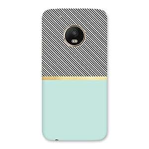 Neo World Pastel Green Base Back Case Cover for Motorola Moto G5 Plus