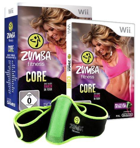 Zumba Fitness Core (inkl. Fitnessgürtel) - [Nintendo Wii] (Nintendo Wii-fitness-spiele)