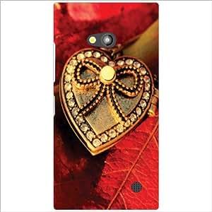 Nokia Lumia 730 Back Cover - Love Magic Designer Cases
