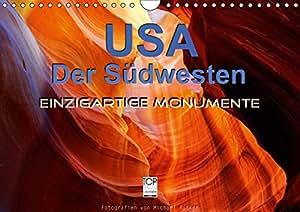 USA Der Südwesten - Einzigartige Monumente (Wandkalender 2019 DIN A4 quer): Faszinierende Landschaften und Monumente aus dem Südwesten der USA (Monatskalender, 14 Seiten ) (CALVENDO Natur)