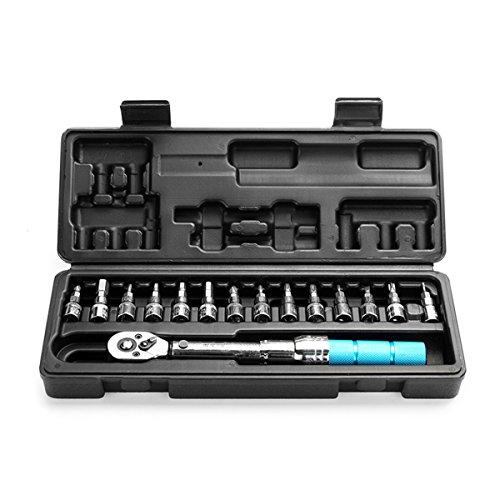 DyNamic 15Pcs Torque Wrench Allen Key Tool