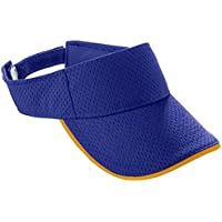 6224 AG YTH ATH MESH 2 COLOR VISOR PURPLE/ GOLD OS