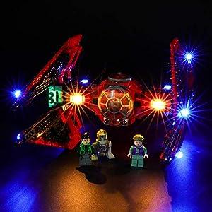 BRIKSMAX Kit di Illuminazione a LED per Lego Star Wars Tie Fighter del Maggiore Vonreg,Compatibile con Il Modello Lego… 0716852282593 LEGO