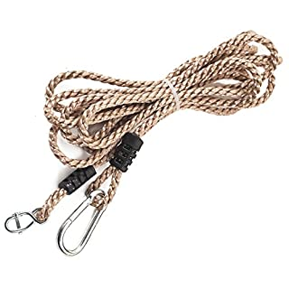 Tree Swing Conversion Ropes Complete Kit with Galvanised Steel Fixings Choice of 2 Lengths (5.5m Single Rope)