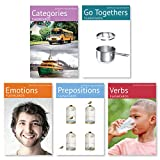 Picture My Picture Feelings and Emotions, Prepositions, Verbs, Categories and Go Togethers Flash Card Pack   Speech Therapy Materials, ESL Materials