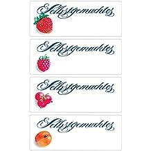AVERY Zweckform 3712 Marmeladen Etiketten Obst, wiederabl/ösbar 9 Aufkleber