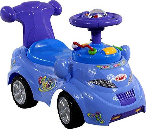 LumenTEC ARTI Kinderrutscher Rutschauto Rutscher Rutscherfahrzeug ab 1 Jahr geeignet, multifunction, 0378 (BLAU)