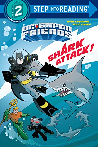 Shark Attack! (DC Super Friends) (DC Super Friends: Step Into Reading, Step 2) por Billy Wrecks