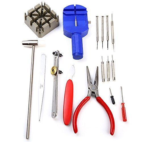 16in 1Uhr Öffner Werkzeug Reparatur Kit Pin Entferner für wechselnden Batterien und Bands