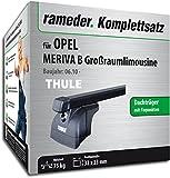 Rameder Komplettsatz, Dachträger SquareBar für Opel MERIVA B Großraumlimousine (116154-08549-2)