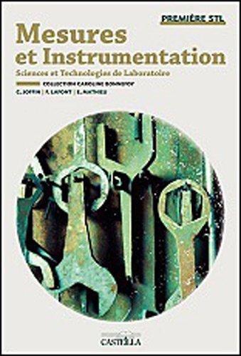 Mesures et instrumentation 1e STL