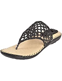 WeDeshi Women's Synthetic Leather Sandal - For Casual, Ethnic, Party, Evening and Office Purpose