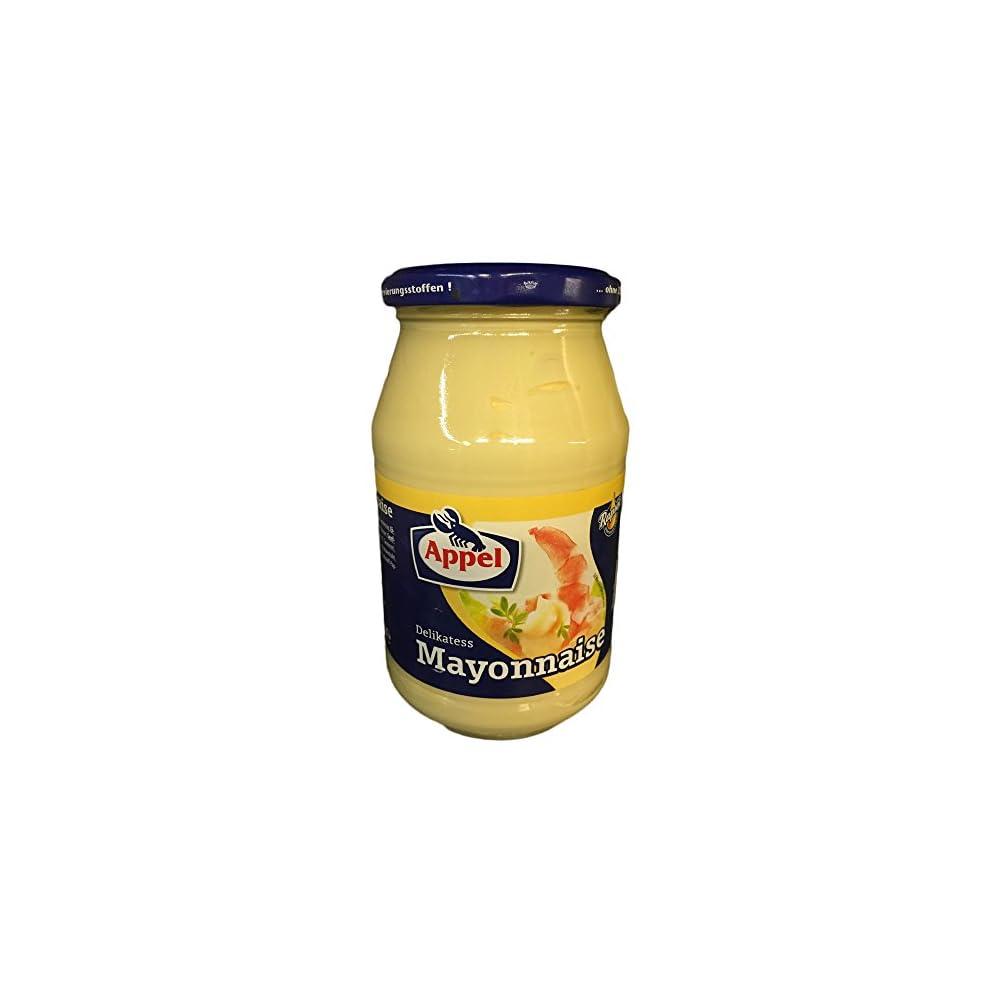 Appel Delikatess Mayonnaise 80 Rapsl 500ml Glas