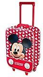 Karactermania Mickey Mouse Funny Equipaje Infantil, 46 cm, 26 Litros, Rojo